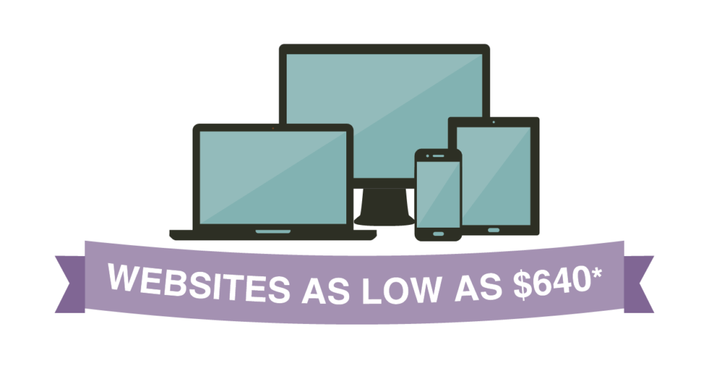 Websites as low as $640