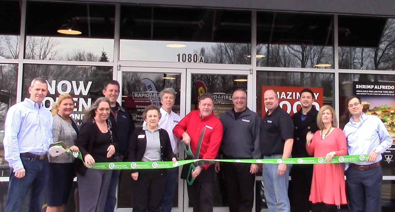 rapid fired ribbon cutting