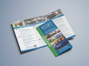 Huber Heights Chamber of Commerce Trifold Brochures