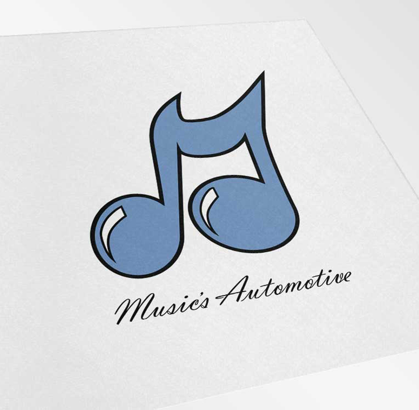Music's Automotive Logo