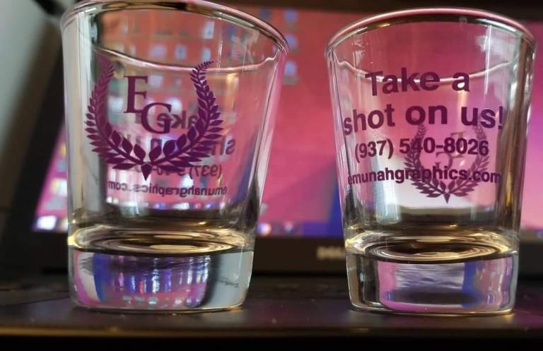 Emunah Graphics Shot Glass