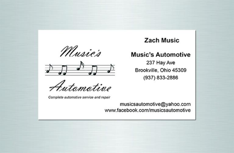 Music's Automotive Fridge Magnet