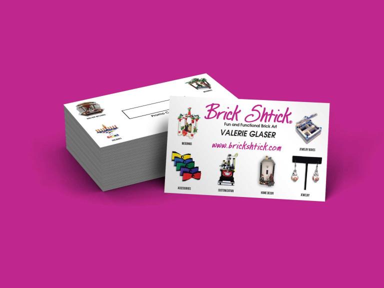 Brick Shtick Business Cards