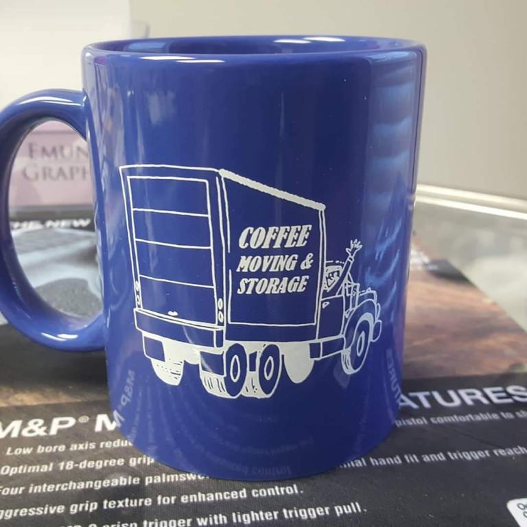 Coffee Moving & Storage Mugs