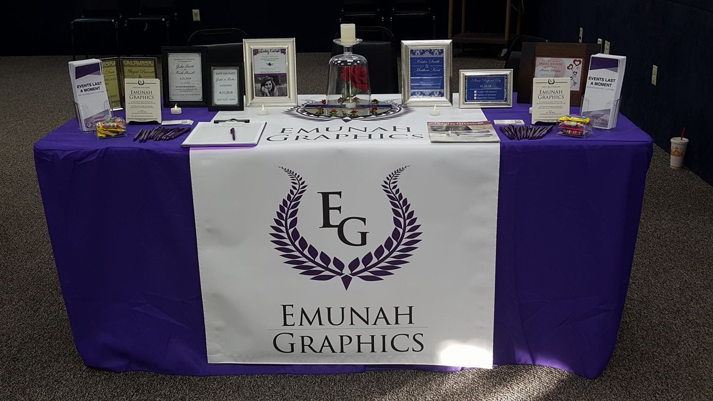 Emunah Graphics Convention Booth