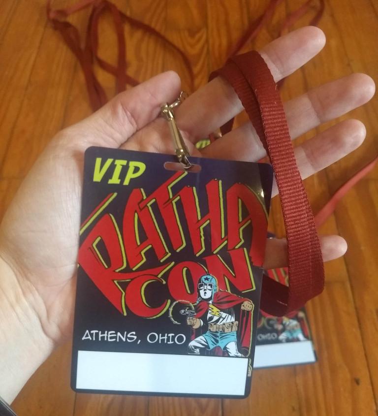 Rathacon 2018 ID Badges