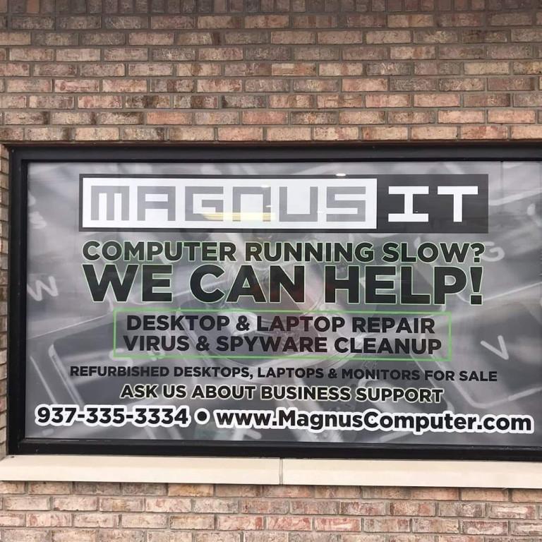 Magnus IT Window Graphic