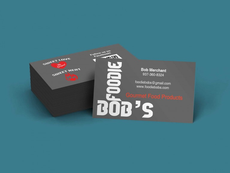 Foodie Bob's Business Cards