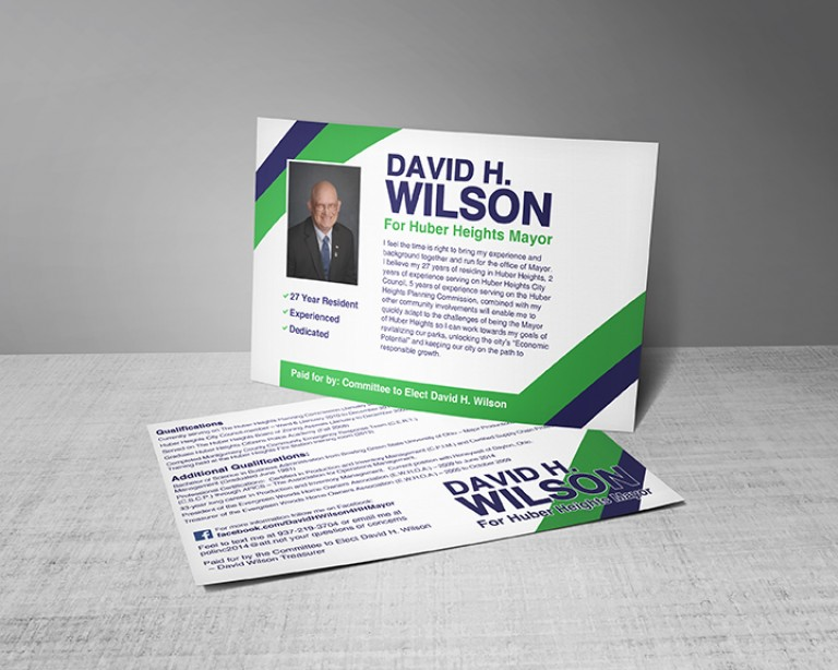 David H Wilson - Mayor Postcards