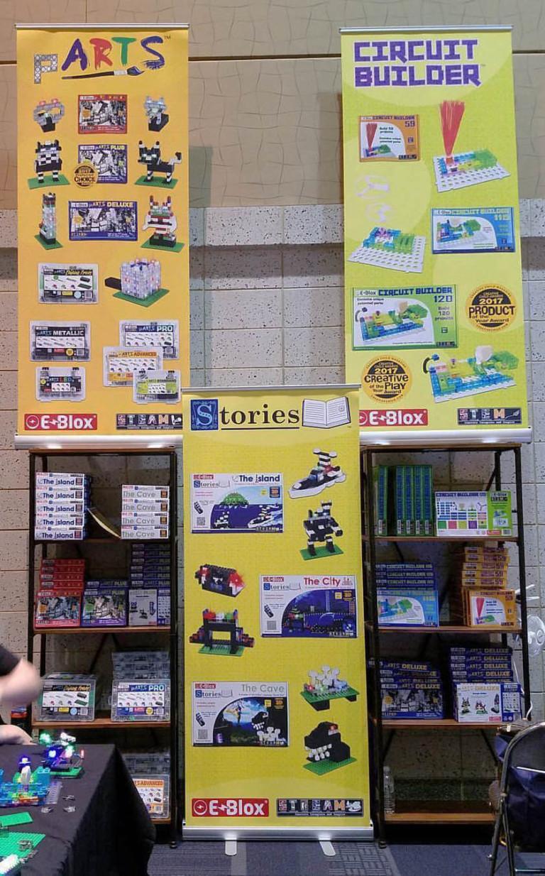 eBlox Retractable Banner Stands