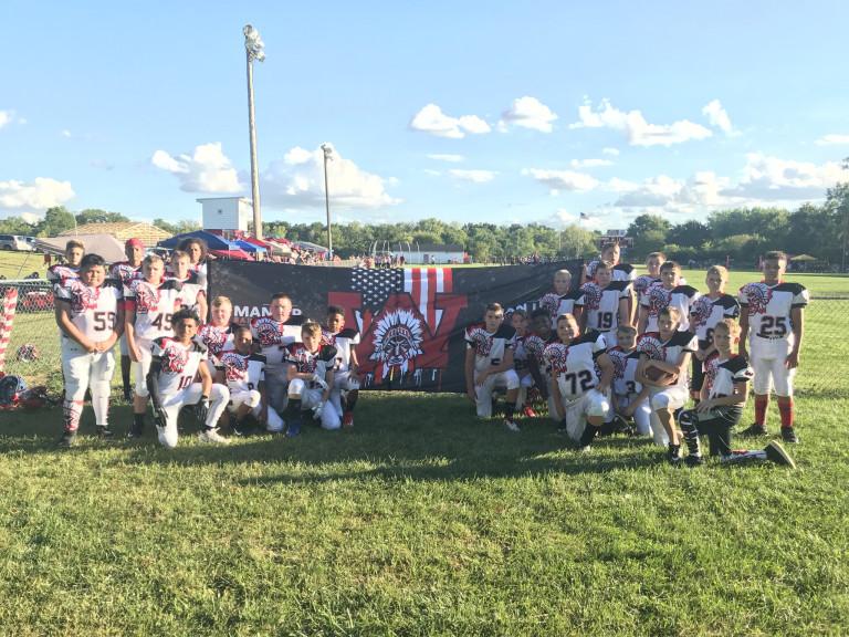 Huber Heights Youth Football Club Breakaway Banner