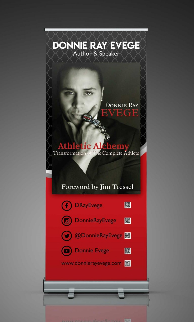 Donnie Ray Evege Author Banner